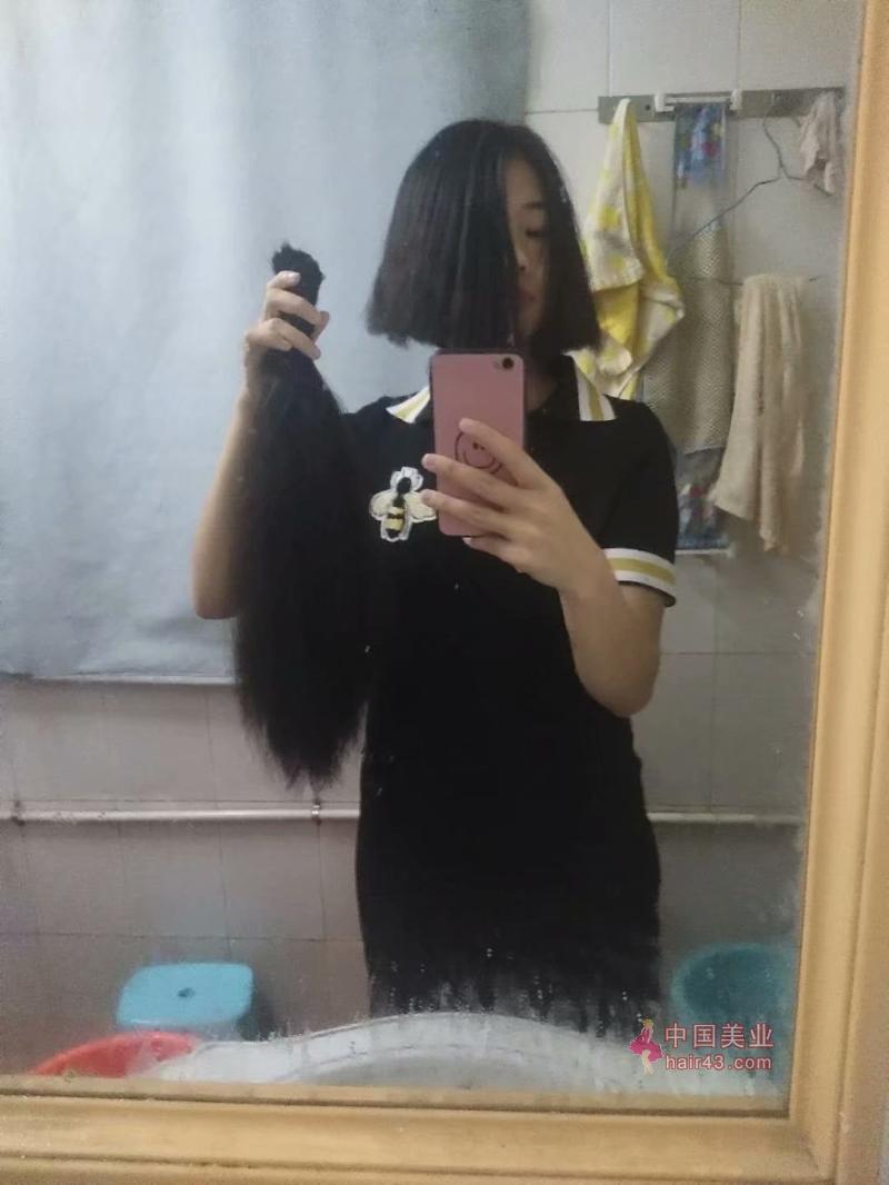 新疆头发图片_酒窝美女在家自剪45公分秀发-狠狠爱李3274#(6)_中国长发