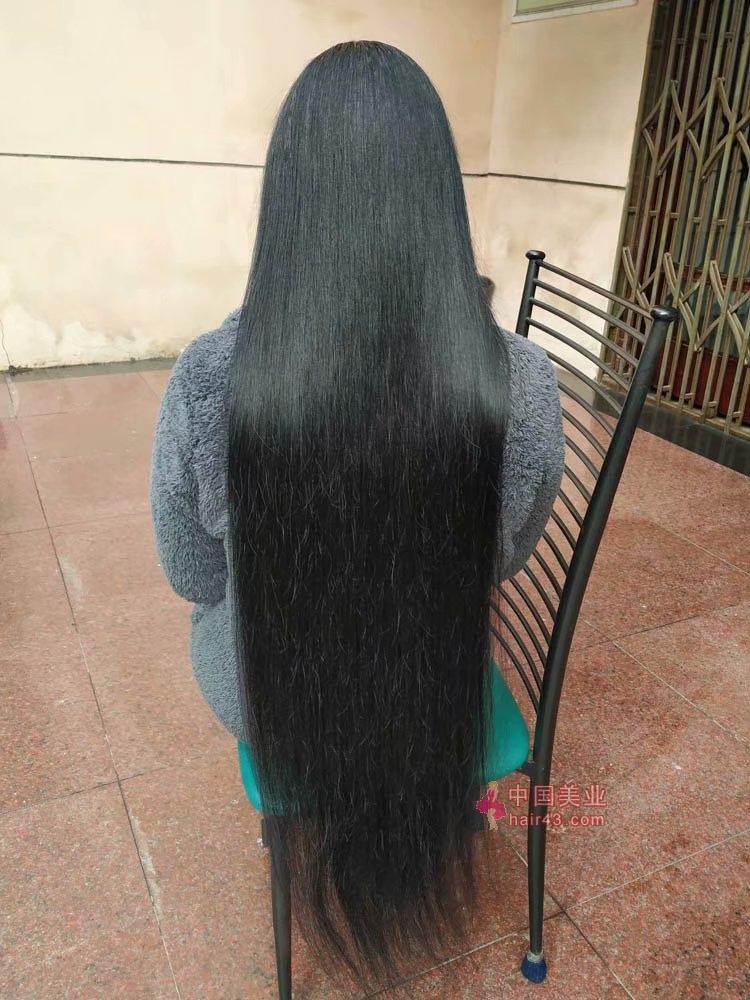 新疆头发图片_剪去大姐这根粗黑大辫-小蘑菇492#_中国长发